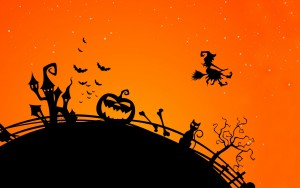 6929732-halloween-creepy-bats-midnight-cat-witch-pumpkin